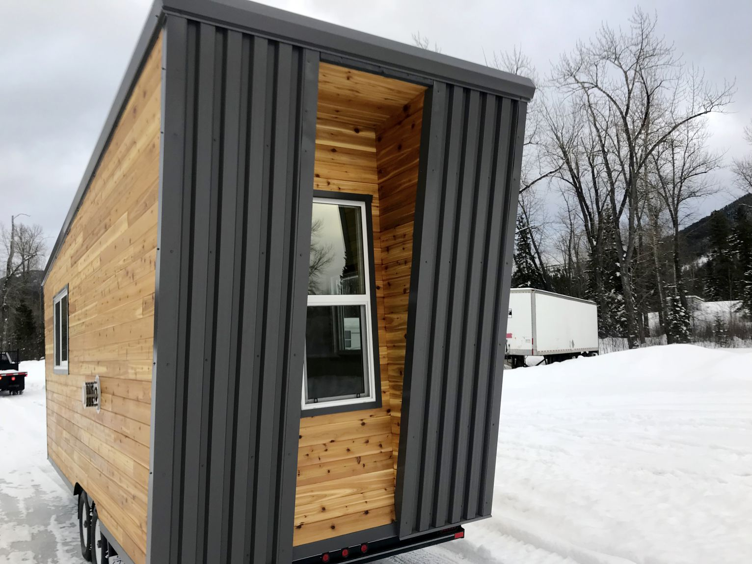 4a547c62e2 Hummingbird Micro Homes has just completed a mobile real estate sales  center. We will also post pictures soon of a mobile office which is almost  complete.