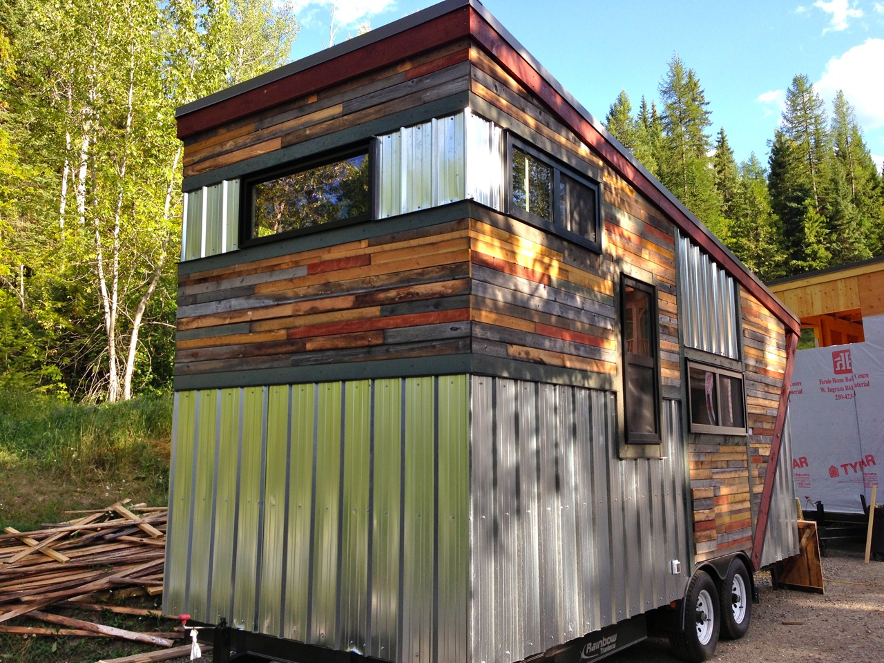 Hummingbird Micro Homes Tiny Homes handmade in Fernie BC The