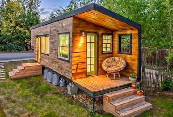 Pleasant Hummingbird Micro Homes Tiny Homes Handmade In Fernie Bc Home Interior And Landscaping Ponolsignezvosmurscom